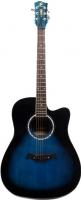 Акустическая гитара Swift Horse WG-415C/OBLS (синий) -