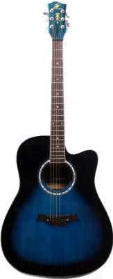 Акустическая гитара Swift Horse WG-415C/OBLS (синий)