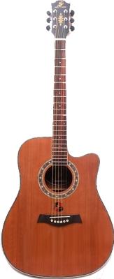 Акустическая гитара Swift Horse TK412C/NA (натуральный)