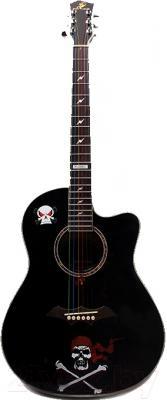 Акустическая гитара Swift Horse KL-390C/BK