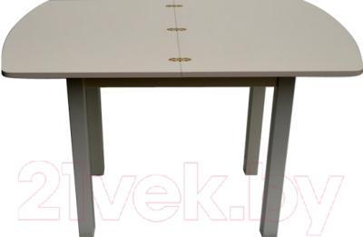 Обеденный стол Саниполь Гудзон ст0601 - в разложенном виде