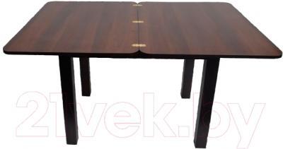 Обеденный стол Саниполь Омолон ст1101 - в разложенном виде
