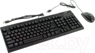 Клавиатура+мышь Genius Wired Desktop Combo KM-122