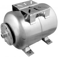 Гидроаккумулятор Unipump Горизонтальный 100л (нержавеющая сталь) -