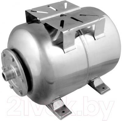 Гидроаккумулятор Unipump Горизонтальный 24л (нержавеющая сталь)