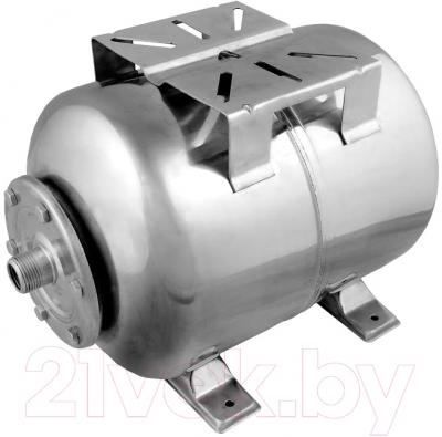 Гидроаккумулятор Unipump Горизонтальный 50л (нержавеющая сталь)