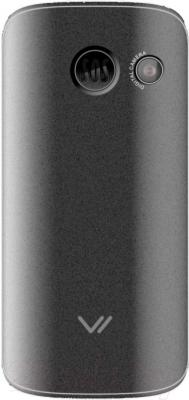 Мобильный телефон Vertex C303 (серебристый/черный)