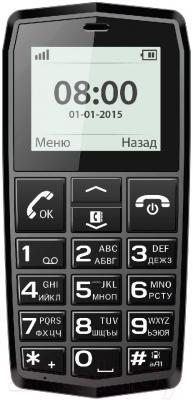 Мобильный телефон Vertex C301 (черный)