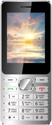 Мобильный телефон Vertex D508 (серебристый/синий)