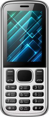 Мобильный телефон Vertex D510 (серебристый/черный)