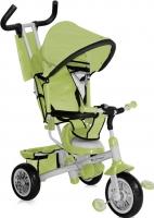 Детский велосипед с ручкой Bertoni B302A (зеленый/серый) -