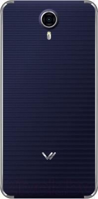 Смартфон Vertex Impress Max (темно-синий/серебро)