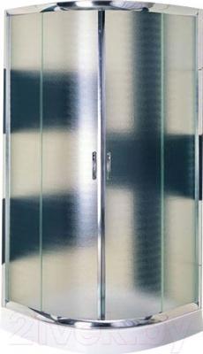 Душевой уголок Belezzo HX-107 90x90 (хром/рифленое стекло)