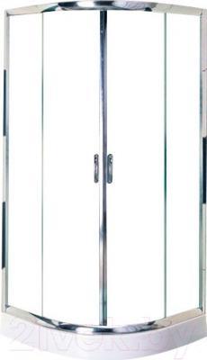 Душевой уголок Belezzo HX-107 90x90 (хром/прозрачное стекло)