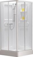 Душевая кабина Belezzo HX-166 90x90 (белый/прозрачное стекло) -