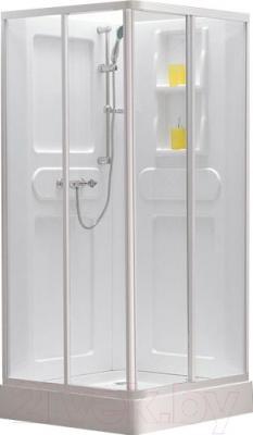 Душевая кабина Belezzo HX-166 90x90 (белый/прозрачное стекло)