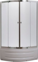 Душевой уголок Belezzo HX-514 80x80 (хром/рифленое стекло) -
