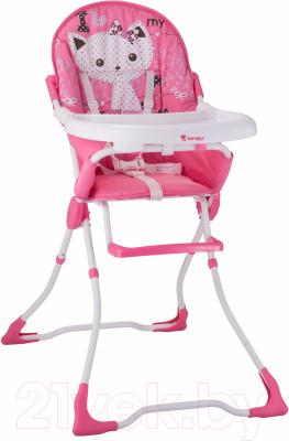 Стульчик для кормления Lorelli Candy Pink Kitten (10100211612)