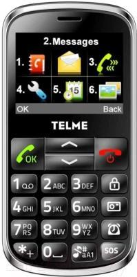 Мобильный телефон Vertex C300 (серый)