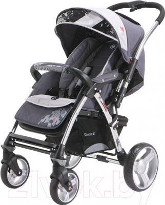 Детская прогулочная коляска Adamex Monza (серый)