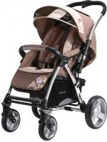 Детская прогулочная коляска Adamex Monza (бежевый) -