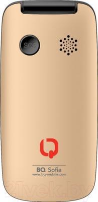 Мобильный телефон BQ Sofia BQM-2001 (золотой)