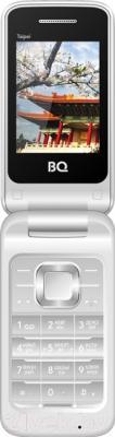 Мобильный телефон BQ Taipei BQM-2400 (серебристый)