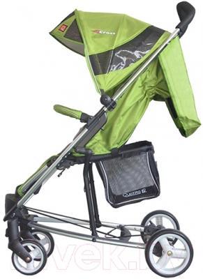 Детская прогулочная коляска Adamex Cross (зеленый)