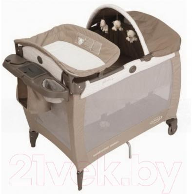 Кровать-манеж Graco Contour Electra B IS for Bear / 9D79BIBE