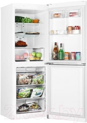 Холодильник с морозильником LG GA-B379SQQL