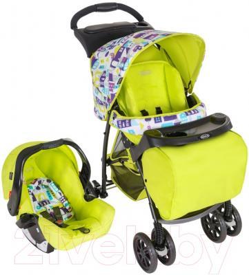 Детская универсальная коляска Graco TS Mirage Plus Toy Town / 7M69TYTE