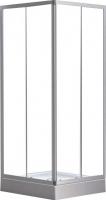 Душевой уголок Belezzo BR-020 80x80 (белый/прозрачное стекло) -