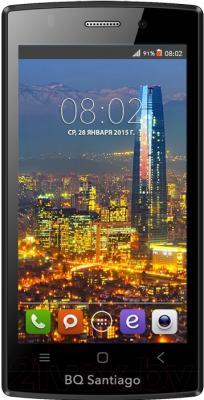 Смартфон BQ Santiago BQS-4505 (черный)