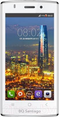 Смартфон BQ Santiago BQS-4505 (белый)