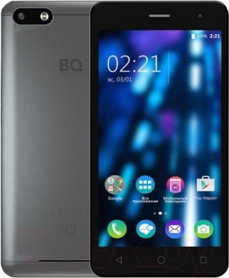 Смартфон BQ Strike BQS-5020 (темно-серый)
