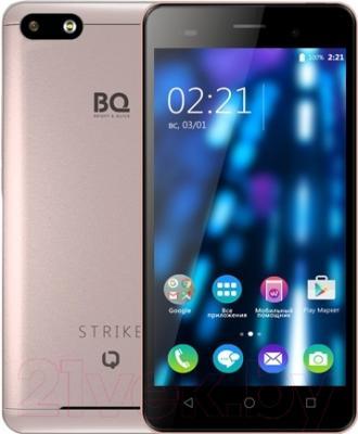 Смартфон BQ Strike BQS-5020 (розово-золотой)