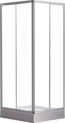 Душевой уголок Belezzo BR-020 90x90 (белый/прозрачное стекло)