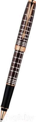Ручка-роллер Parker Sonnet 13 Brown Rubber PGT 1859483