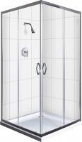 Душевой уголок Belezzo BR-4001 90x90 (хром/прозрачное стекло) -