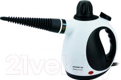 Пароочиститель Polaris PSC 1101C (белый/черный)