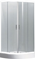 Душевой уголок Belezzo BR-4002 80x80 (белый/матовое стекло) -
