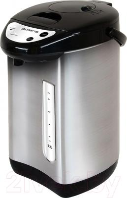 Термопот Polaris PWP 3215 (нержавеющая сталь/черный)