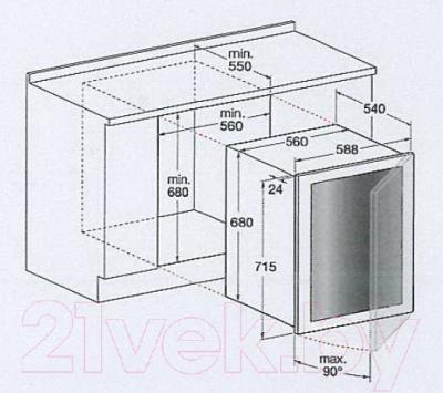 Винный шкаф Hotpoint WL 36 A/HA