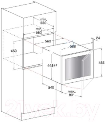 Винный шкаф Hotpoint WL 24 A/HA