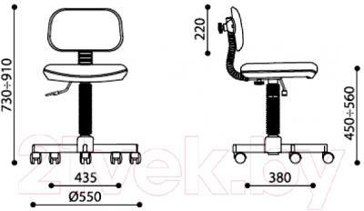 Кресло детское Новый Стиль Logica GTS (C-32)