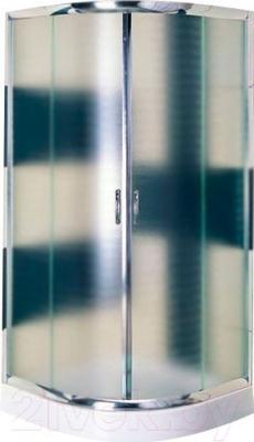Душевой уголок Belezzo HX-107 90x90 (хром/матовое стекло)