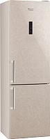 Холодильник с морозильником Hotpoint HF 8201 M O -