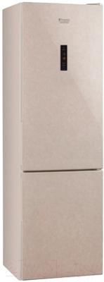 Холодильник с морозильником Hotpoint HF 7180 M O