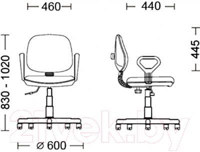 Кресло офисное Новый Стиль Regal GTP (C-11)