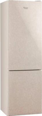 Холодильник с морозильником Hotpoint HF 4180 M